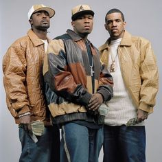 G-Unit ; 50 Cent, Young Buck & Lloyd Banks Ahh young buck is my husband! Hip Hop Look, Style Hip Hop, Music Pics, Rap Music, 50 Cent G Unit, Arte Do Hip Hop, Lloyd Banks, Young Buck, Famous Movie Quotes