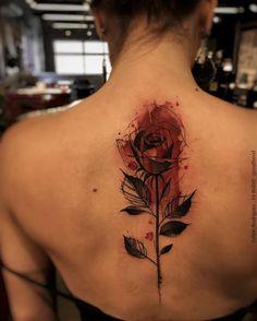 """""""Rose Red..."""" . -Criações, Orçamentos e agendamentos somente pessoalmente e com hora marcada . -Contato :(11) 3044-0442 -Mail : tattooyou@tattooyou.com.br  Faz uma visita lá! Se localiza na Avenida Doutor Cardoso de Melo Número 320. Vila olímpia -  SP  Studio TattooYou. . #the_inkmasters #tattoodo #tattooistartmagazine  #savemyink #artcollective  #thebesttattooartists #tattoo2me #blacktattoo  #tattrx  #inkedmag #equilattera #tatser #tatserapp #tattoaria  #conceptualmoderns..."""