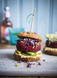 Made with grated beetroots, creamy tahini and fresh coriander, this Beetroot burger recipe is the ultimate Vegetarian Burger Recipe. Read more
