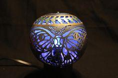 Luna Moth 6 Luminary Gourd