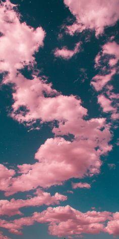Night Sky Wallpaper, Cloud Wallpaper, Framed Wallpaper, Iphone Background Wallpaper, More Wallpaper, Aesthetic Pastel Wallpaper, Aesthetic Backgrounds, Aesthetic Wallpapers, Pastel Sky