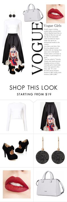"""pin up style"" by elia-cordero ❤ liked on Polyvore featuring Proenza Schouler, Astley Clarke and Jouer"