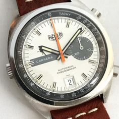 Heuer 'key' Carrera in grey
