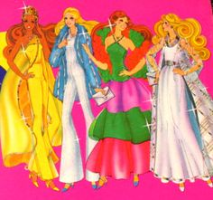 Late 70's Barbie Art by Doll_Collector