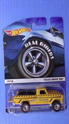 2016 Hot Wheels NEW Texas Drive' EM Rubber Tires   #HotWheels