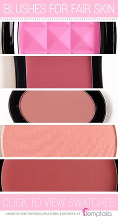 5 Blushes to Try for Fair Skin Tones
