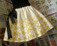 Pokemon Dress, Pokemon Skirt, Pokemon Clothing, Womens Geek Clothing, ROOBYS. £45.00, via Etsy.