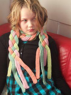 Bit of a Knitter: Stash buster 'Sugar Flump' Scarf Recipe