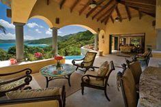 St. John Villa Rentals: Villa MAS DEL   5BR Rental - Villa Delfina - what a view!