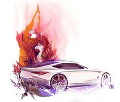 Kimberly Wu, car concept illustration