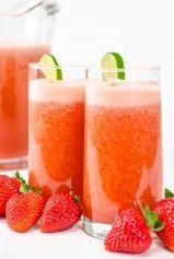 Blendtec Recipe of the Week: Fresh Strawberry Limeade