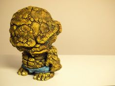"""""""The Thing"""" munny - this is so cool, look at the texture on this """"thing""""."""