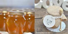Convierte un sencillo tarrito de miel en un detalle encantador e inolvidable para tus invitados. #detallesboda #bodasdiy #invitados #detallesinvitados #bodas2016 #regaloshechosconamor