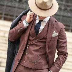 3 Piece Suit and Hat