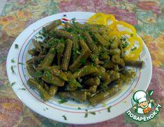 Рецепт: Зеленая фасоль по-сирийски