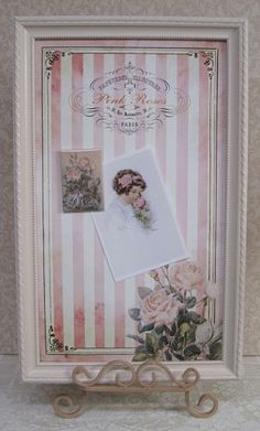 DIY Shabby Chic Projects - Write announcements on frame or use an old window