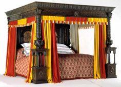 Oheisessa kuvassa on hyvin huomattava sänky, Great Bed of Ware, joka valmistui vuonna 1590, ja vietti seuraavat 300 vuotta palvellen englantilaisia ...