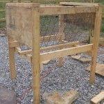 DIY Hay Rack Goat Feeder