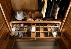 Ties and more wardrobe storage