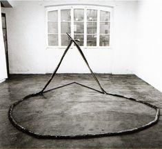 Gilberto Zorio- Per peruficare le parole (To purify the words), 1969 http://www.tate.org.uk/whats-on/tate-modern/exhibition/zero-infinity-arte-povera-1962-1972/zero-infinity-atre-povera-196-12