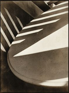 Love this as an example of taking the normal and making it interesting and abstract. Photographer, Paul Strand, 1916