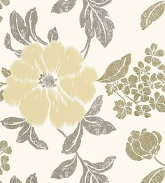 Rue de Seine - Neutral on White wallpaper, from the Zola Wallpaper collection by Anna French