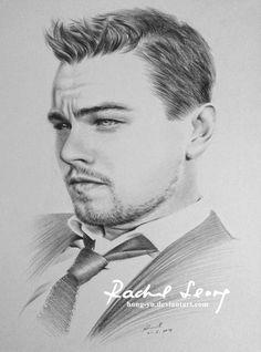 Leonardo Dicaprio by Hong-Yu.deviantart.com on @deviantART