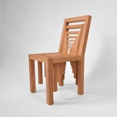 Designer Vivian Chiu had this amazing idea of creating a chair and placing within it chairs that are progressively smaller.