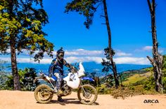 Owner: Alejandro Barrios Photographer: Armando Campos Bike: BMW G650X Challenge Spot: Puriscal, overlooking San José Valley in Costa Rica Taken: Jan-31 2014, on BMW GS Trophy Qualifiers