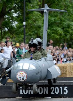 One of our favourites from the 2015 Red Bull Soapbox race.