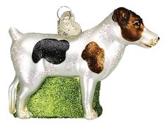The Jolly Christmas Shop - Old World Christmas Jack Russell Terrier Ornament, $12.99 (http://www.thejollychristmasshop.com/old-world-christmas-jack-russell-terrier-ornament/)