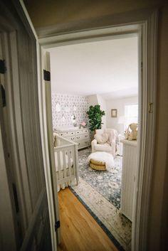 Vintage Folklore Nursery // Baby Girl Nursery Inspiration & nursery decor