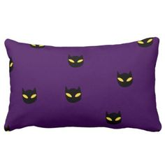 Sleeping cat on a pumpkin Pillow - home gifts ideas decor special unique custom individual customized individualized