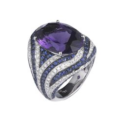 gorgeous! Asprey Oceania Amethyst ring