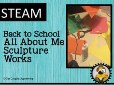 Ready to add STEAM to your classroom? Try our Back to School All About Me Sculpture Works!Your students will create a sculpture of themselves, with at least one moveable part, that depicts their favorite hobbies and activities. Using the engineering design process the students will meet the following criteria:The sculpture must be able to stand upright on its own and be at least 12 inches tall.Two or more hobbies or activities must be represented.