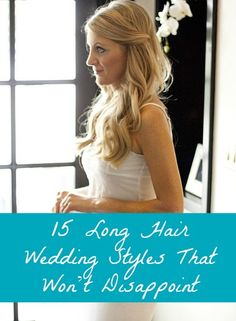 Repinned: 15 Wedding Hairstyles For Long Hair