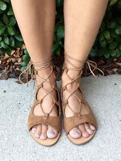 Be Together Gladiators - Natural from Chocolate Shoe Boutique