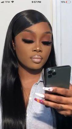 Glam Makeup Look, Makeup Eye Looks, Cute Makeup, Gorgeous Makeup, Pretty Makeup, Makeup Geek, Beauty Makeup, Black Queen Makeup, Black Girl Makeup