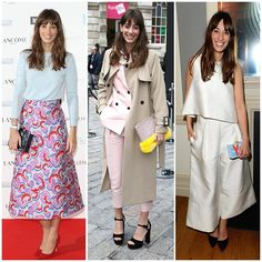 The 21 Best-Dressed Women Right Now - English TV presenter, Laura Jackson. Known for her feminine, Parisian-inspired style. She looks to past fashion icons like Françoise Hardy and Jane Birkin for style inspiration.