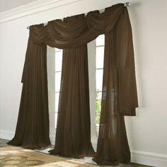Kess InHouse Sylvia Coomes Venice 7 Sheer Curtains 30 x 84