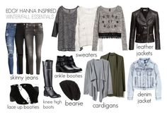 """Edgy Hanna Marin inspired winter/fall essentials"" by liarsstyle on Polyvore"