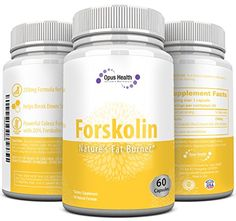 Forskolin Extract for Weightloss (60 Capsules) of Pure Forskolin Extract 250mg Coleus Forskohlii Root with 20% Forskolin