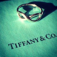 Tiffany and co infinity ring, really simple, classic and beautiful....and expensive as shit:(