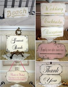 Add that extra touch! Shabby Chic Signs, Decoupage, Foto Transfer, Shabby Chic Baby Shower, Paper Crafts, Diy Crafts, Shabby Flowers, Halloween Items, Vintage Typography