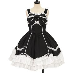 ♥ Angelic pretty ♥ Ribbon jumper skirt http://www.wunderwelt.jp/products/detail9401.html If you like this item please check this page ♡ #lolitafashion