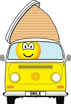Campervan emoticon