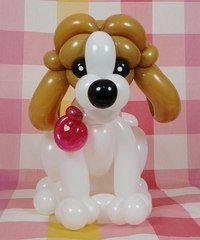 perro con globos - Buscar con Google