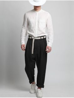 Lyocel Linen Pants by SYNGMAN CUCALA