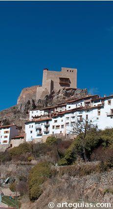 Castillo de Alcalá de la Selva. Teruel Spain