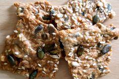 Crackers salés à l'emmental et aux graines au Thermomix - Cookomix